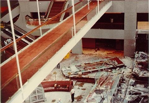 Hyatt regency Walkway building collapse in Kansas City